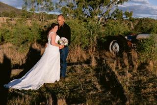 Wedding officiated by Brisbane celebrant Mandi Forrester-Jones
